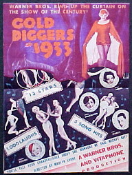 GOLD DIGGERS OF 1933 @ FilmPosters.com