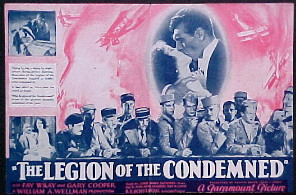 LEGION OF THE CONDEMNED @ FilmPosters.com