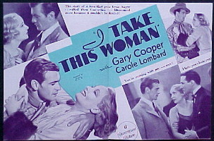 I TAKE THIS WOMAN @ FilmPosters.com