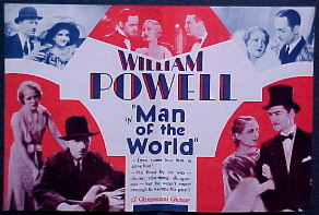 MAN OF THE WORLD @ FilmPosters.com