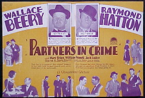 PARTNERS IN CRIME @ FilmPosters.com
