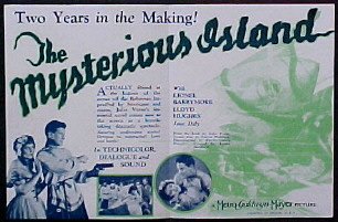 MYSTERIOUS ISLAND @ FilmPosters.com