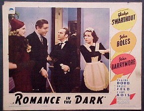 ROMANCE IN THE DARK @ FilmPosters.com