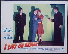 I LIVE ON DANGER @ FilmPosters.com