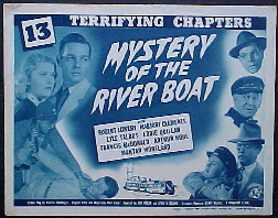 MYSTERY OF THE RIVER BOAT @ FilmPosters.com