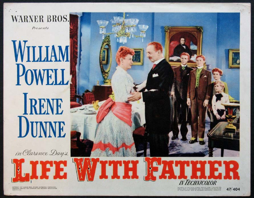LIFE WITH FATHER @ FilmPosters.com