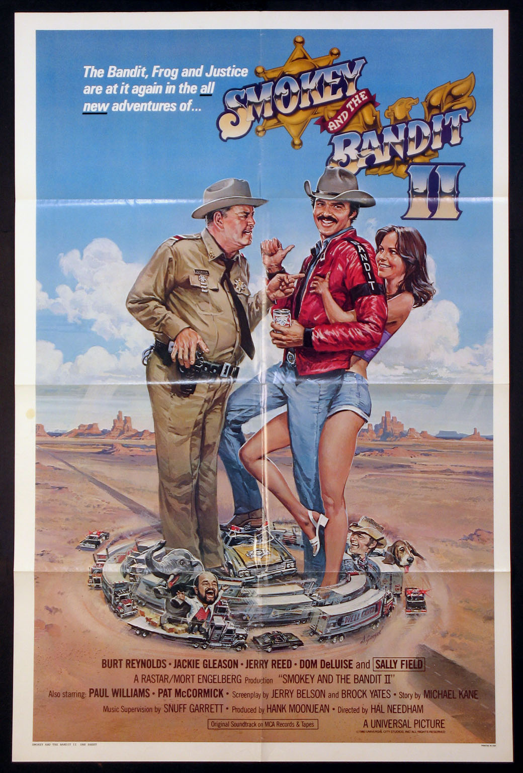 SMOKEY AND THE BANDIT II (Smokey and the Bandit 2) @ FilmPosters.com