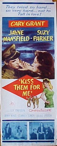 KISS THEM FOR ME @ FilmPosters.com