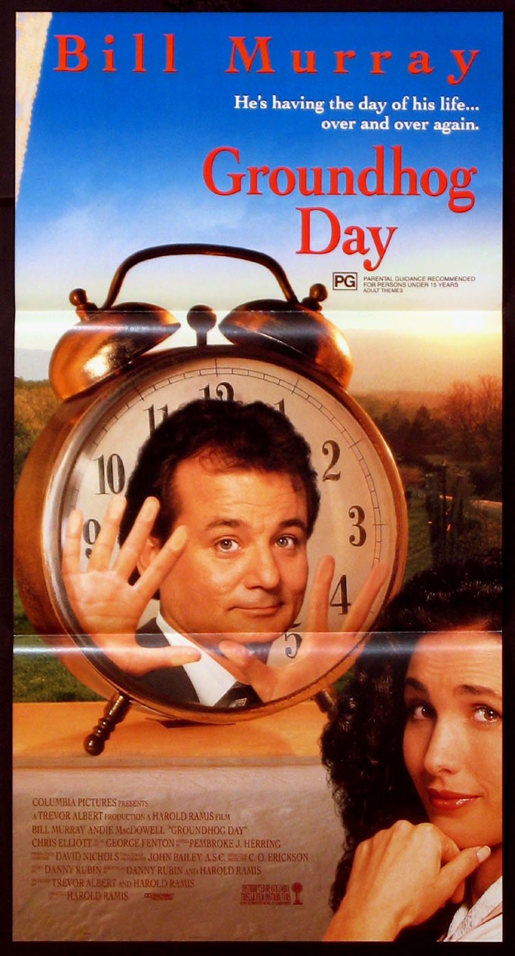 GROUNDHOG DAY @ FilmPosters.com