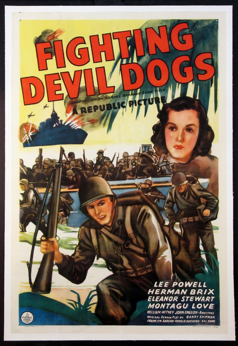 FIGHTING DEVIL DOGS @ FilmPosters.com