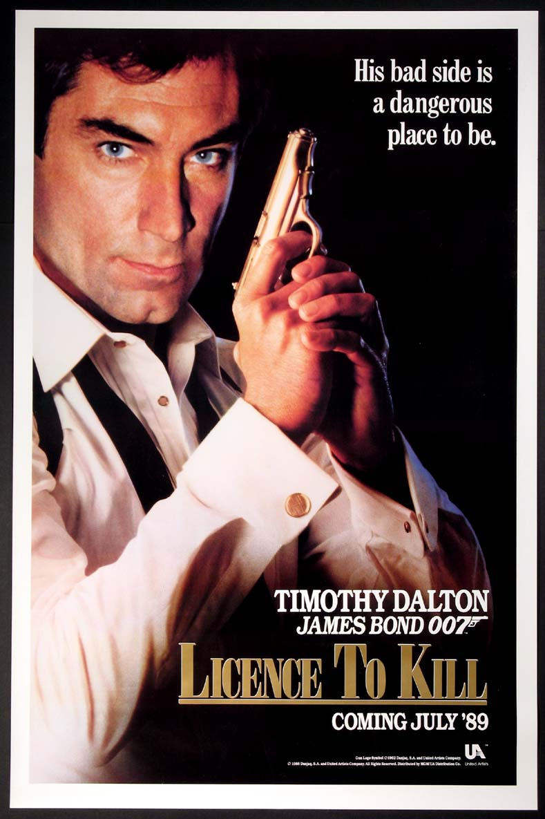 LICENSE TO KILL (Licence to Kill) (James Bond) @ FilmPosters.com
