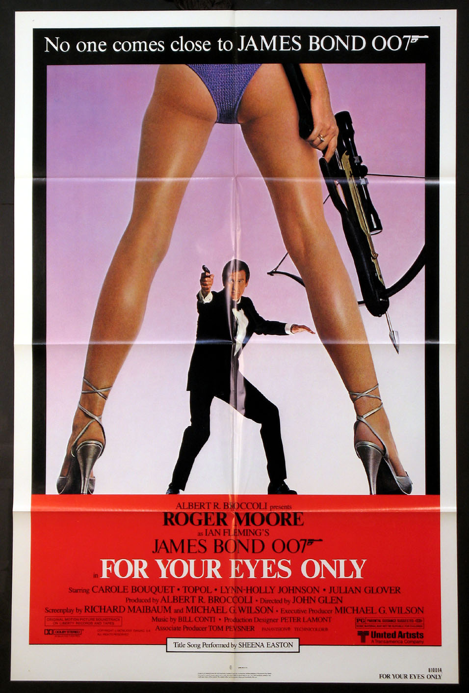 FOR YOUR EYES ONLY (James Bond) @ FilmPosters.com