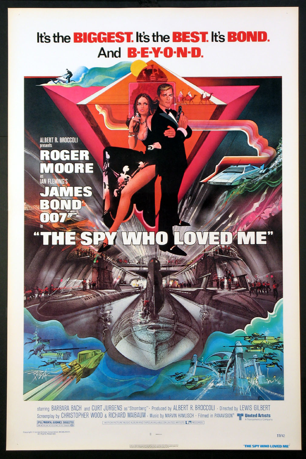 SPY WHO LOVED ME, THE (James Bond) @ FilmPosters.com