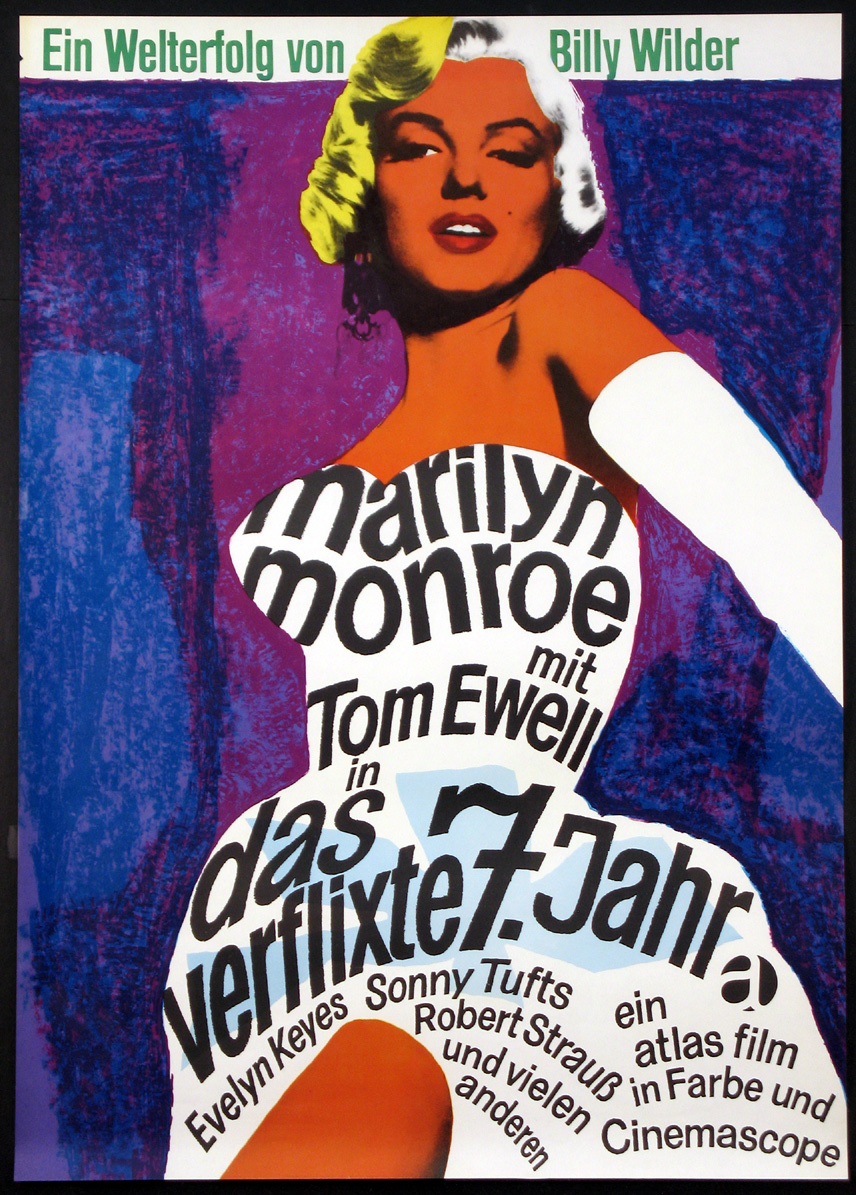 SEVEN YEAR ITCH, THE (Seven-Year Itch) @ FilmPosters.com