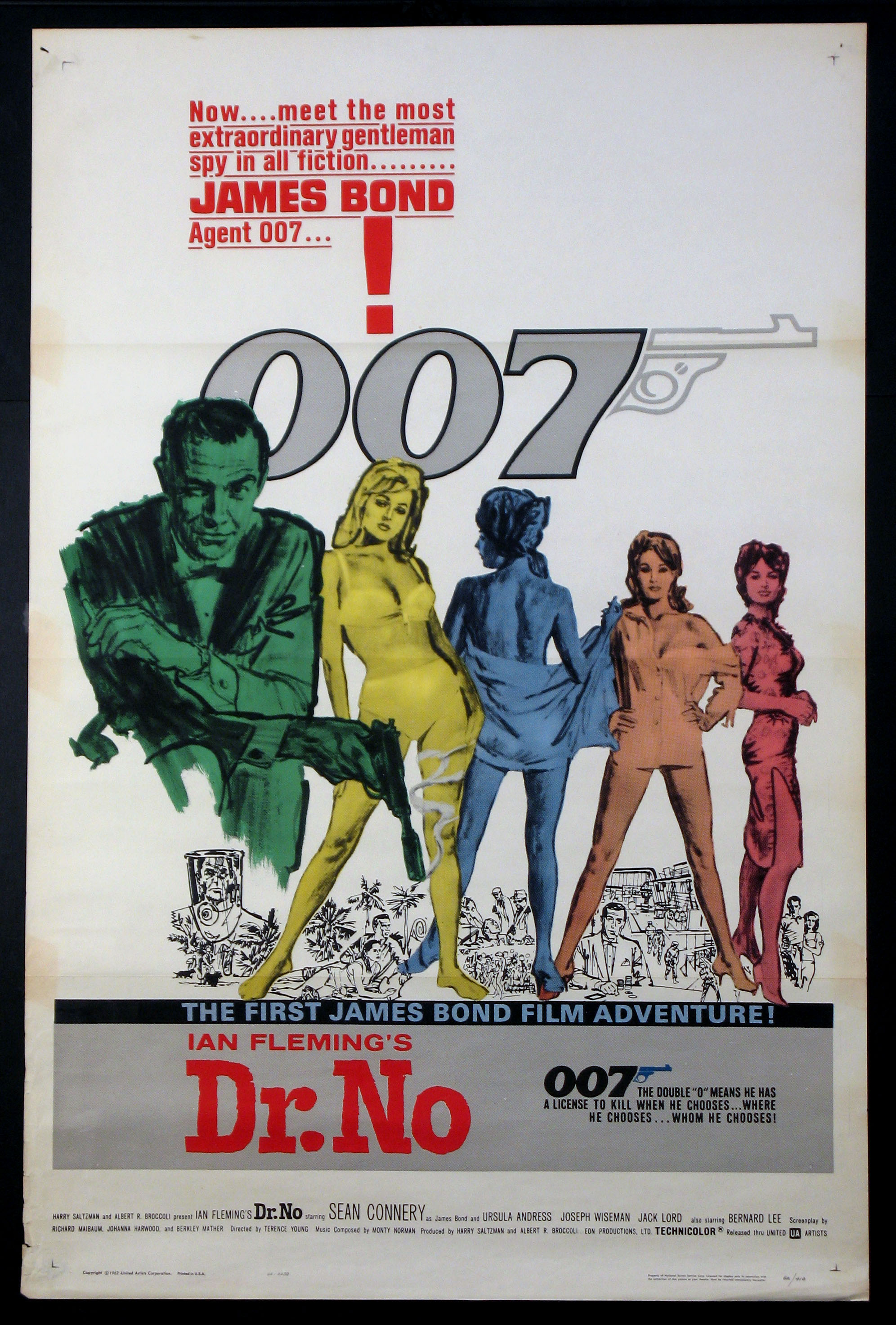 DOCTOR NO (DR. NO) (James Bond) @ FilmPosters.com