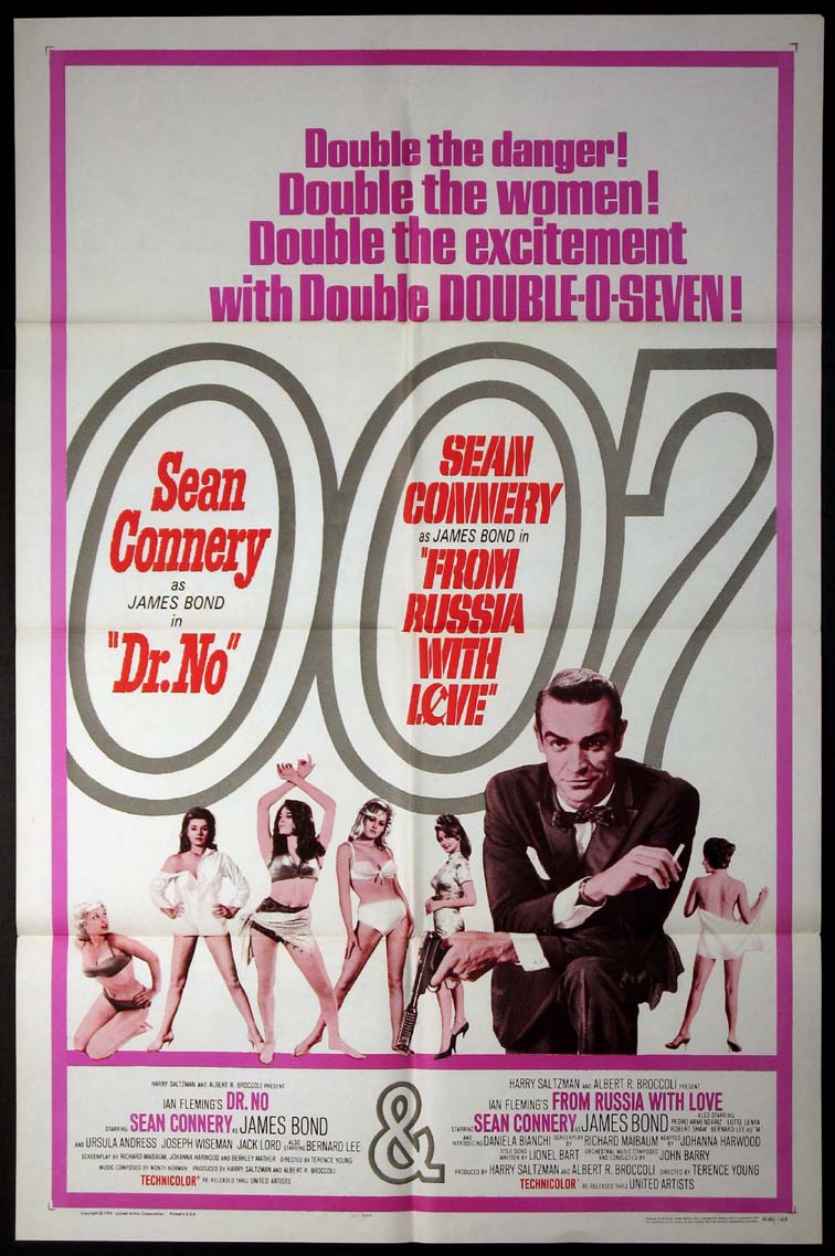 DOCTOR NO (DR. NO) / FROM RUSSIA WITH LOVE (James Bond) @ FilmPosters.com