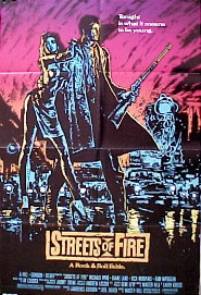 STREETS OF FIRE @ FilmPosters.com