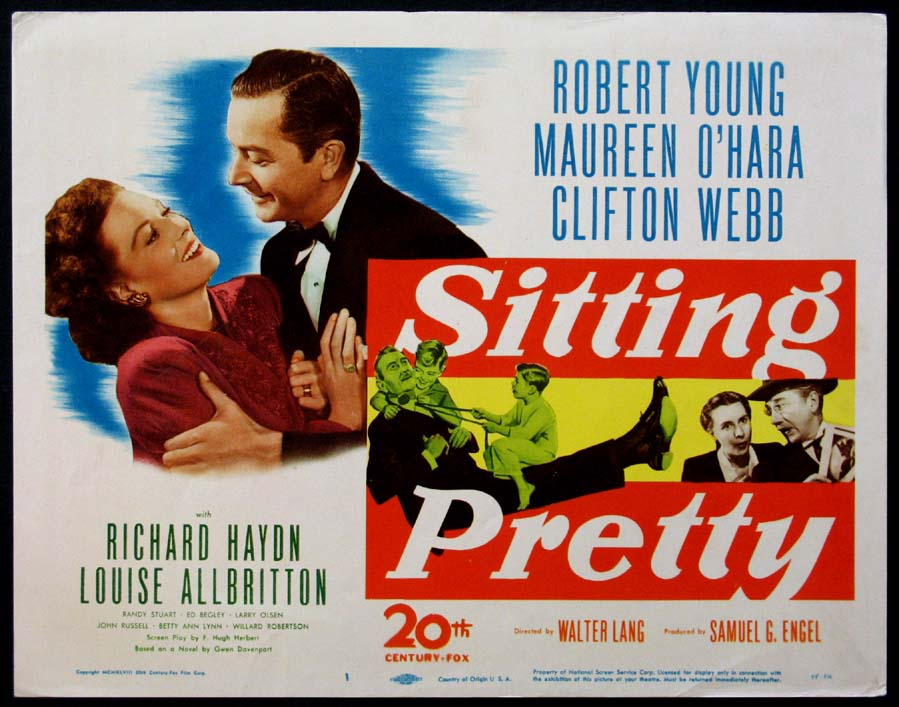 SITTING PRETTY @ FilmPosters.com