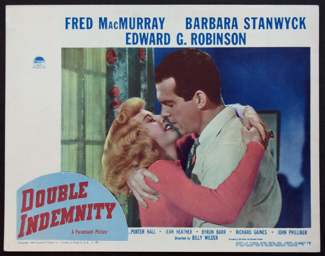 DOUBLE INDEMNITY @ FilmPosters.com