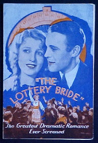 LOTTERY BRIDE @ FilmPosters.com