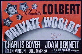 PRIVATE WORLDS @ FilmPosters.com