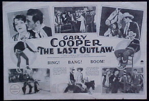 LAST OUTLAW @ FilmPosters.com