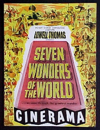 SEVEN WONDERS OF THE WORLD (Cinerama) @ FilmPosters.com