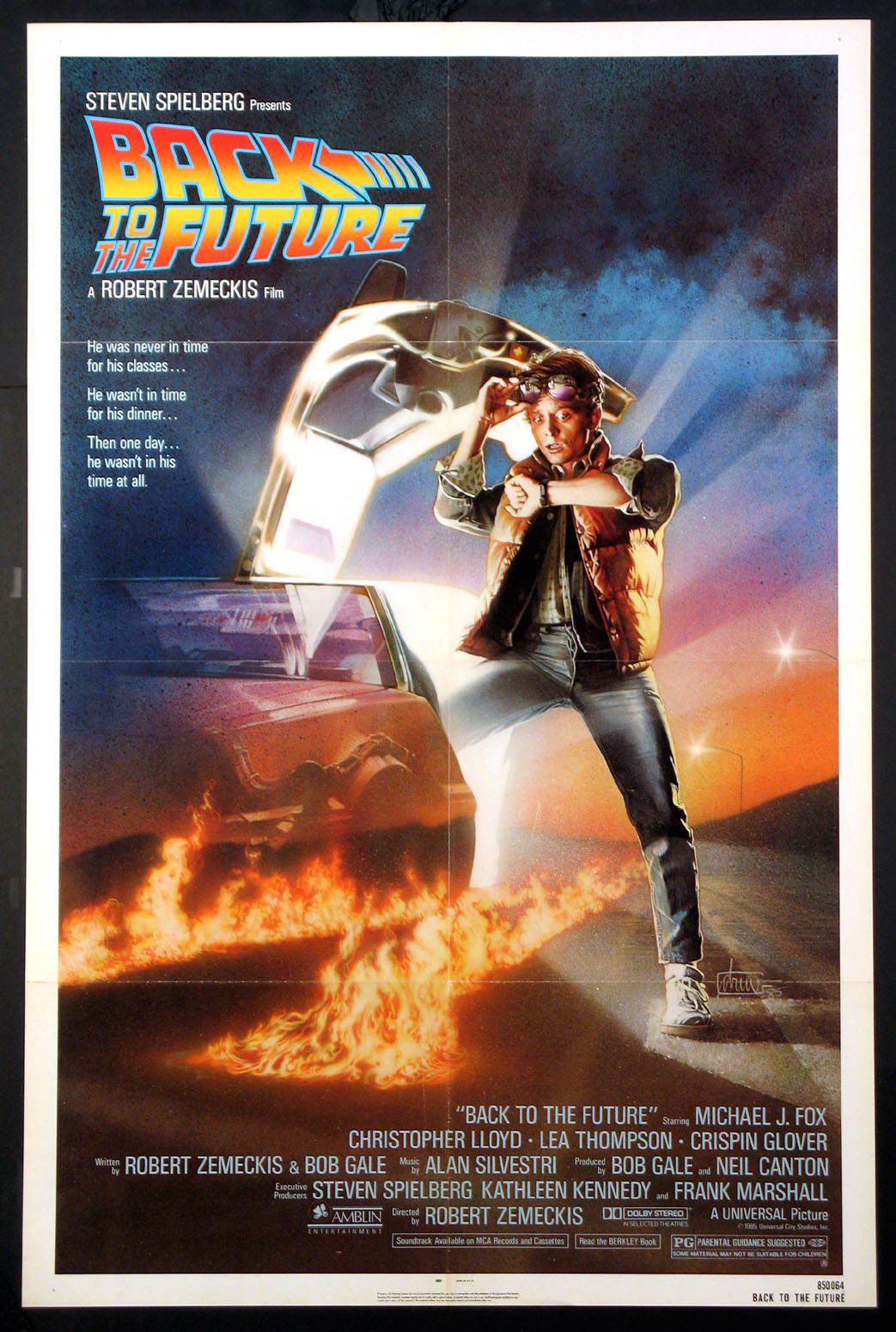 BACK TO THE FUTURE @ FilmPosters.com