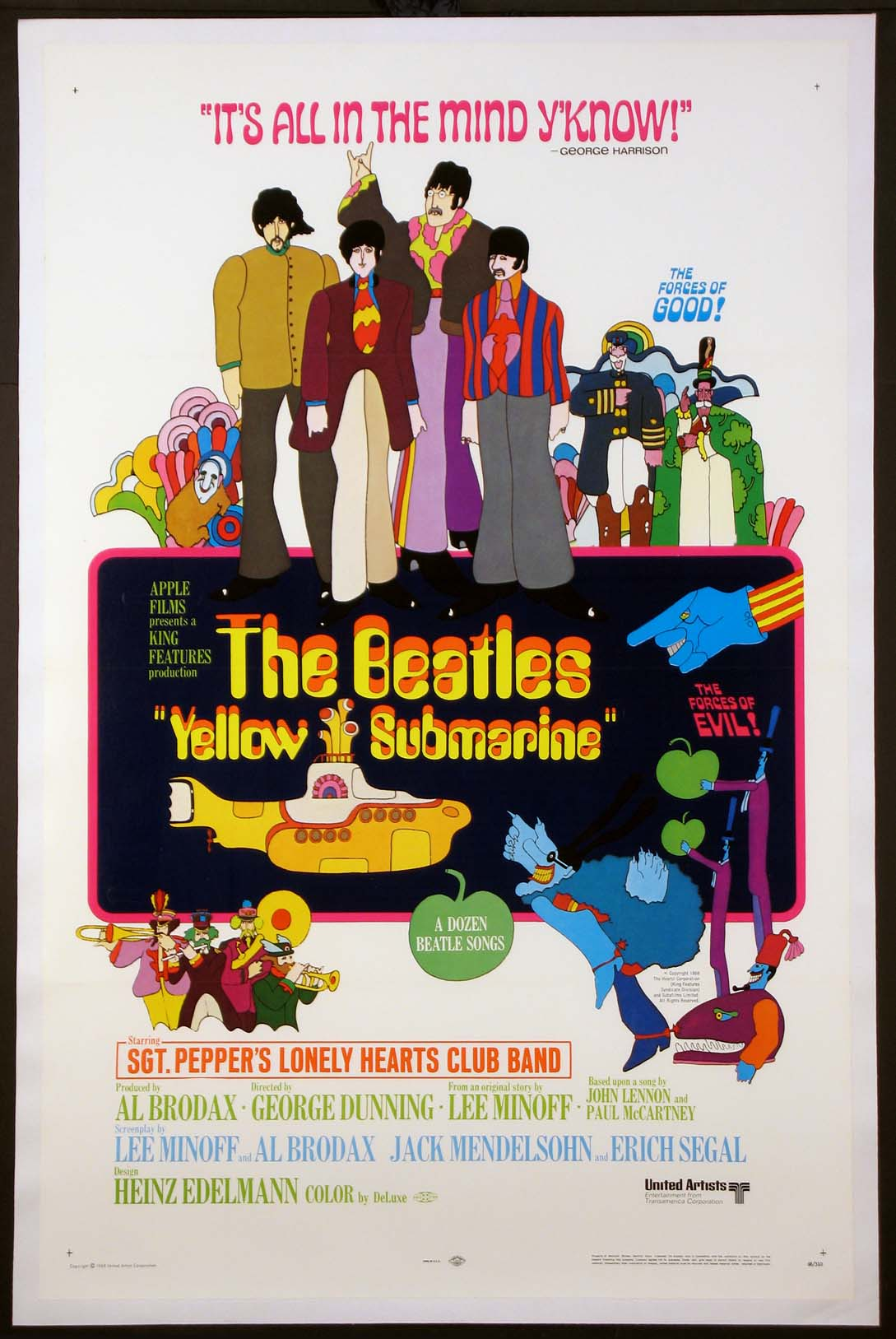 YELLOW SUBMARINE @ FilmPosters.com