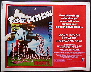 MONTY PYTHON LIVE AT THE HOLLYWOOD BOWL @ FilmPosters.com