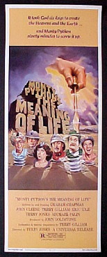 MONTY PYTHON'S THE MEANING OF LIFE @ FilmPosters.com