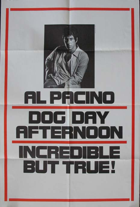 DOG DAY AFTERNOON @ FilmPosters.com