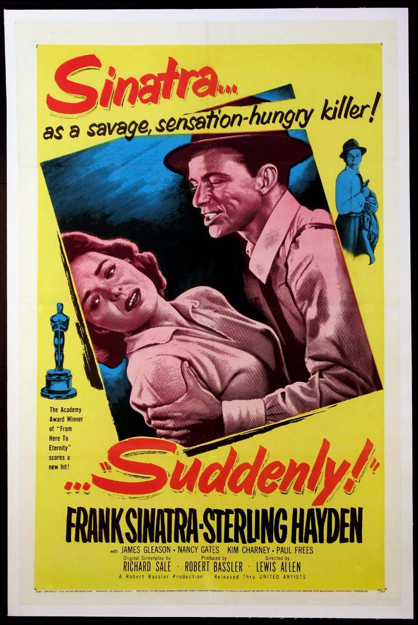 SUDDENLY! @ FilmPosters.com