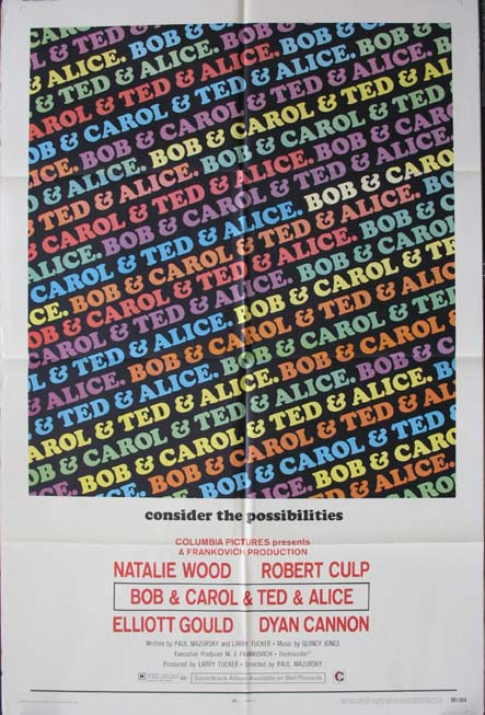 BOB & CAROL & TED & ALICE (Bob and Carol and Ted and Alice) @ FilmPosters.com