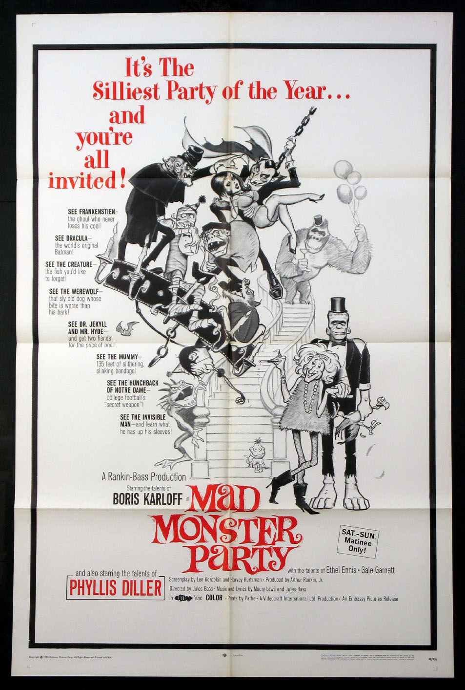 MAD MONSTER PARTY @ FilmPosters.com