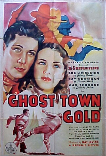GHOST TOWN GOLD @ FilmPosters.com