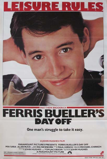 FERRIS BUELLER'S DAY OFF @ FilmPosters.com