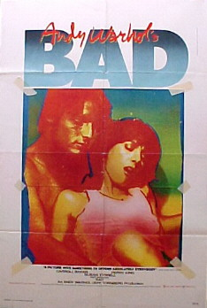 ANDY WARHOL'S BAD @ FilmPosters.com