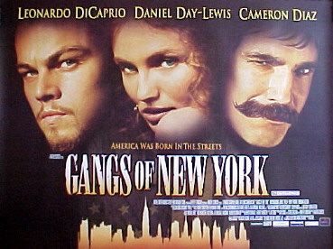 GANGS OF NEW YORK @ FilmPosters.com
