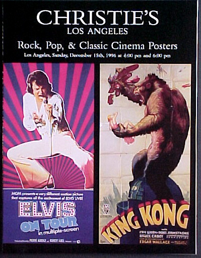 ROCK, POP AND CLASSIC CINEMA POSTERS - CHRISTIE'S LOS ANGELES 1996 @ FilmPosters.com