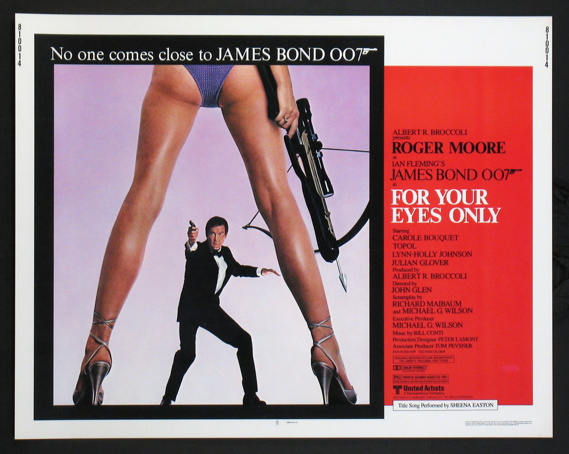 FOR YOUR EYES ONLY @ FilmPosters.com
