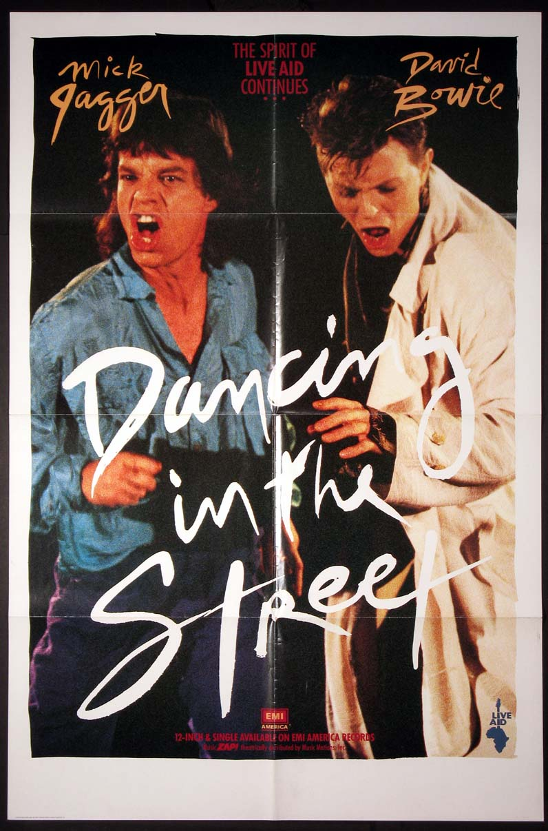 DANCING IN THE STREET @ FilmPosters.com