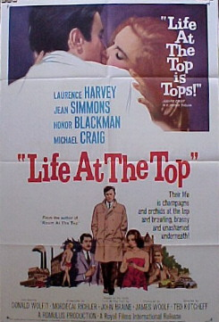 LIFE AT THE TOP @ FilmPosters.com