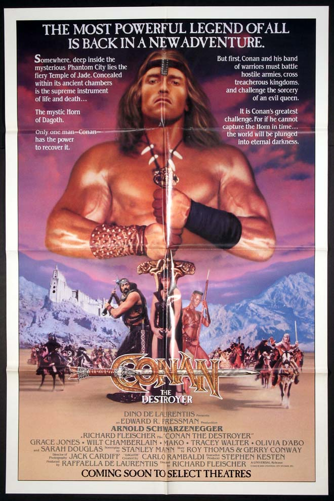 CONAN THE DESTROYER @ FilmPosters.com