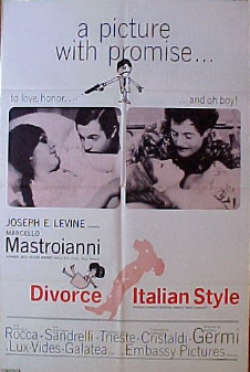 DIVORCE ITALIAN STYLE @ FilmPosters.com