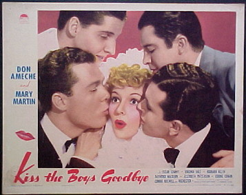 KISS THE BOYS GOODBYE @ FilmPosters.com