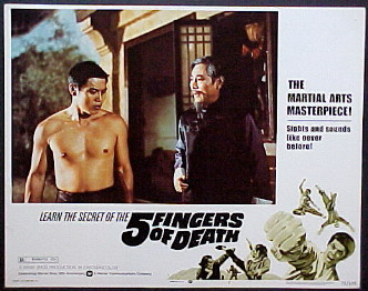 FIVE FINGERS OF DEATH @ FilmPosters.com