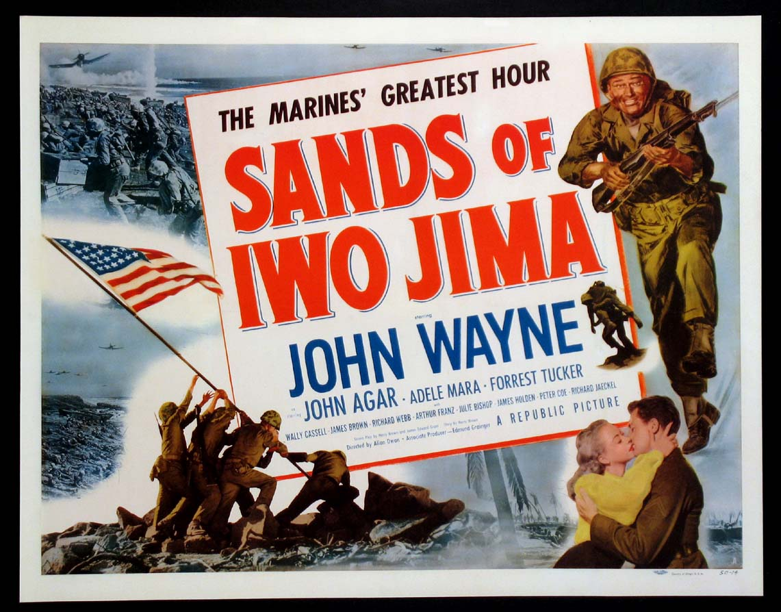 SANDS OF IWO JIMA @ FilmPosters.com