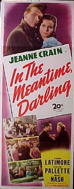 IN THE MEANTIME DARLING @ FilmPosters.com