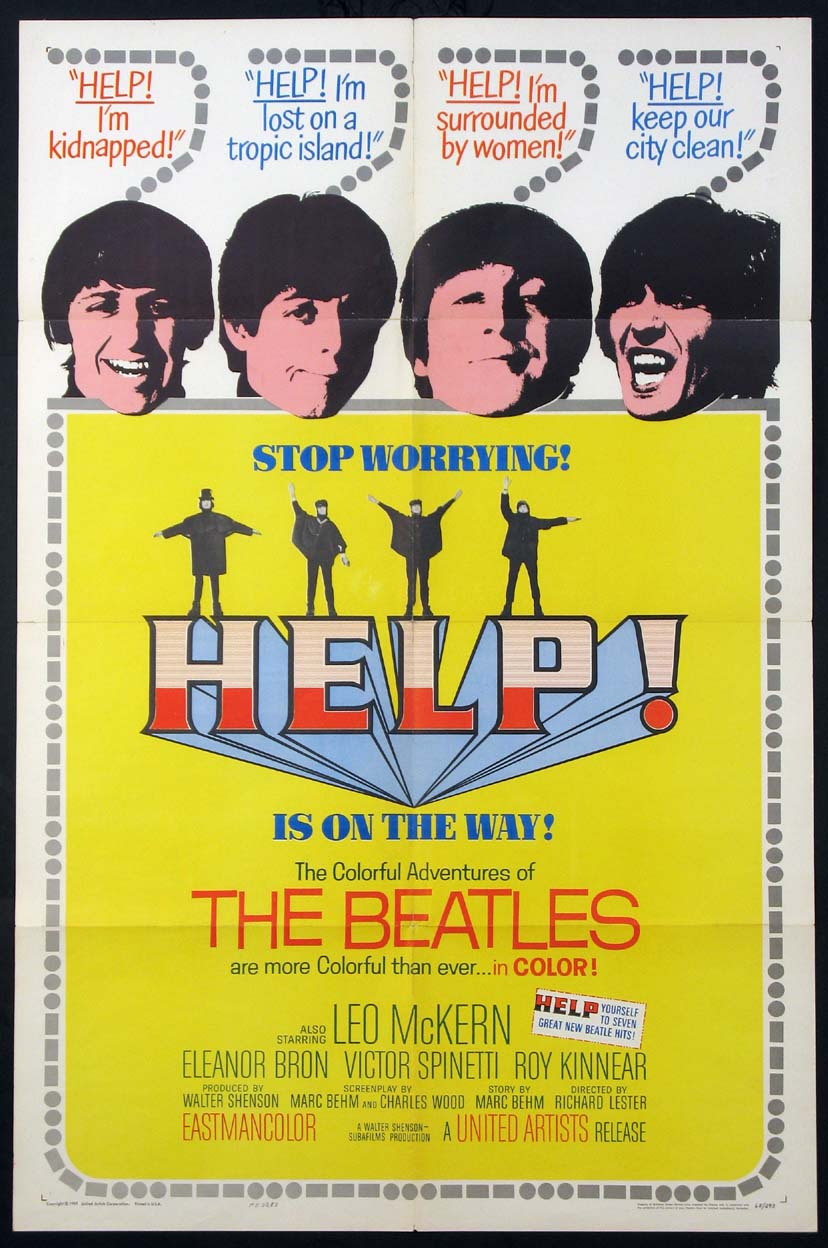 HELP! @ FilmPosters.com